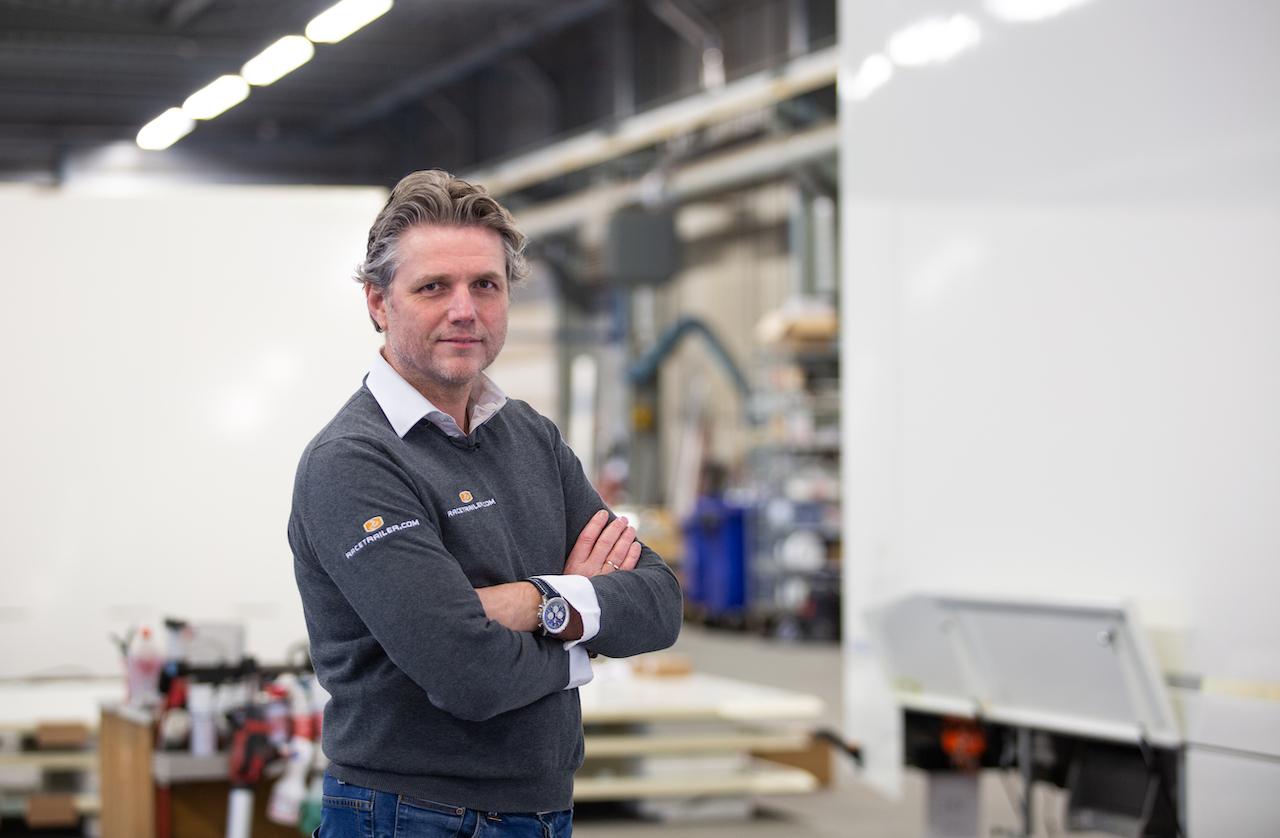 Ron Reinders van Racetrailer.com