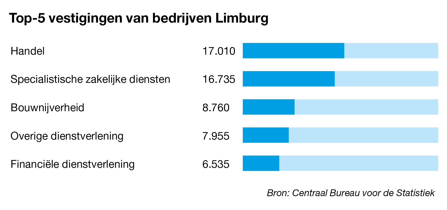 Bedrijven te koop in Limburg